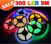 MULTI COLOURED LED ROPE LIGHTS